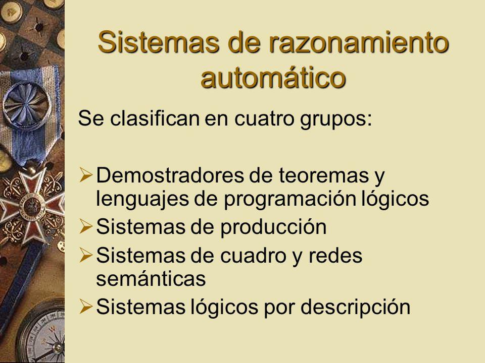 Sistemas de razonamiento automático