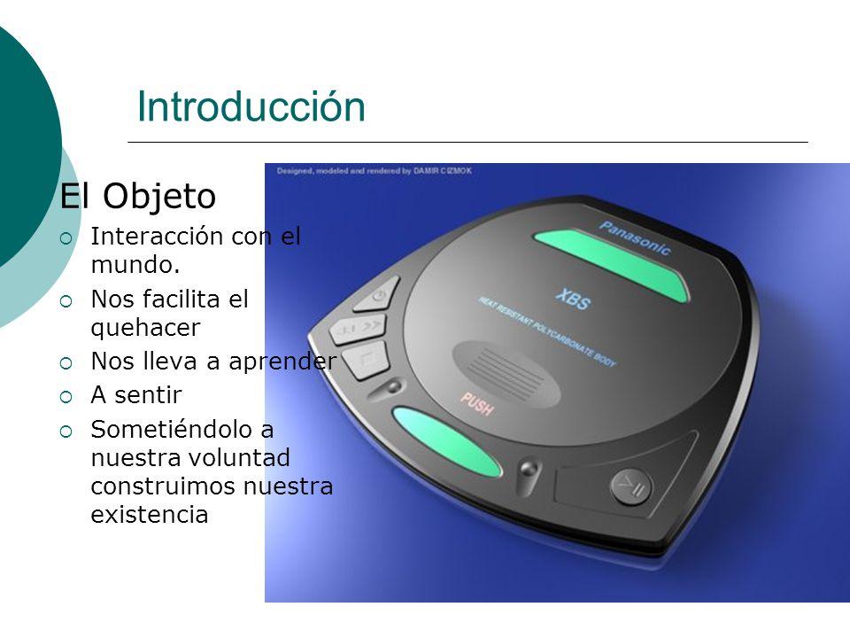 Introducción El Objeto Interacción con el mundo.