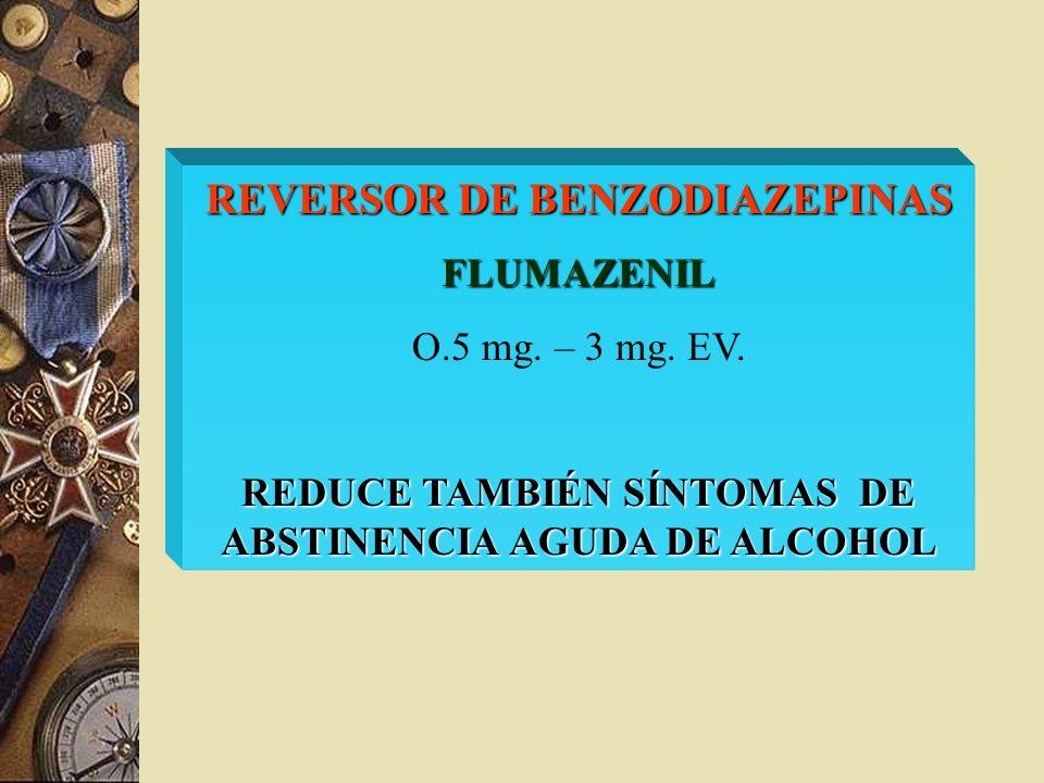 REVERSOR DE BENZODIAZEPINAS
