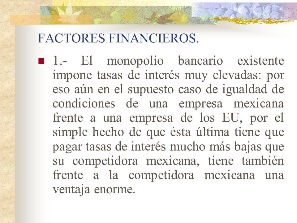 FACTORES FINANCIEROS.