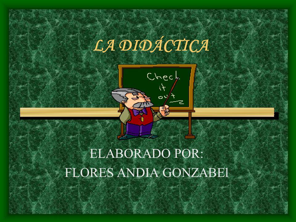 ELABORADO POR: FLORES ANDIA GONZABEl