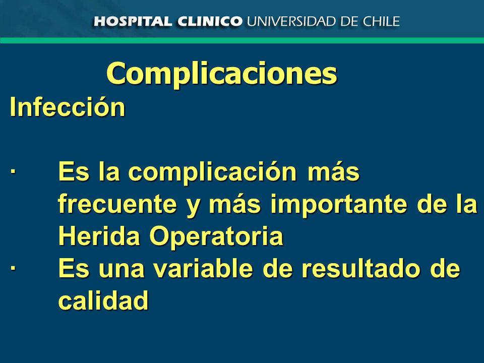 Complicaciones Infección