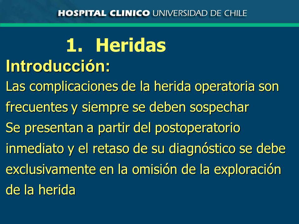 1. Heridas Introducción:
