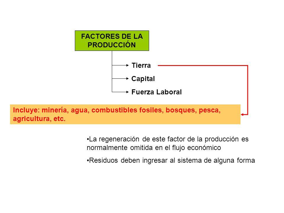 FACTORES DE LA PRODUCCIÓN
