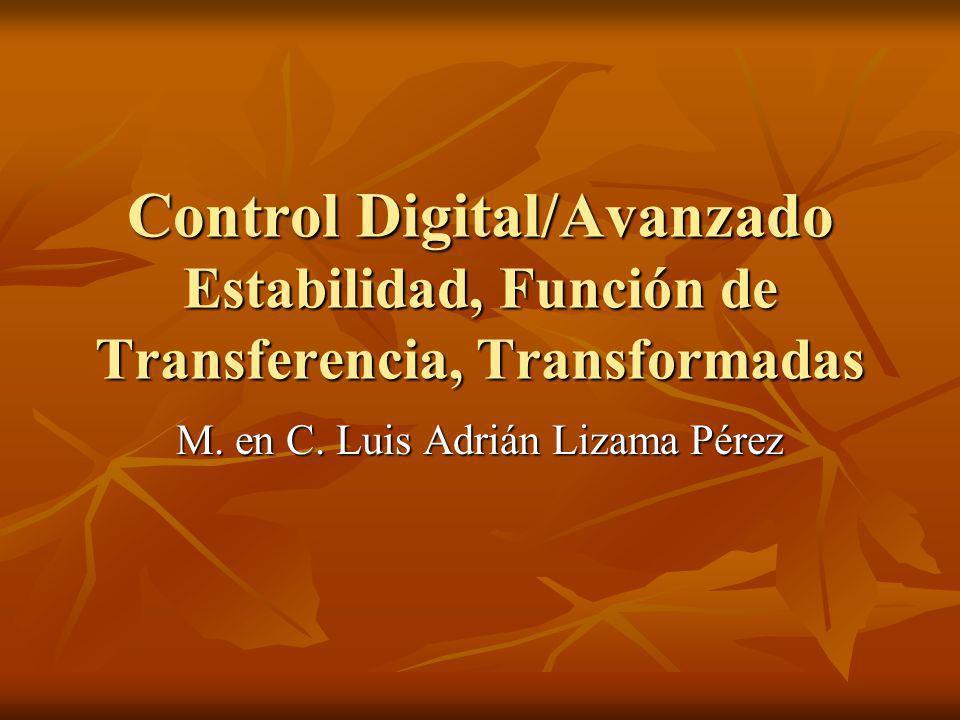M. en C. Luis Adrián Lizama Pérez