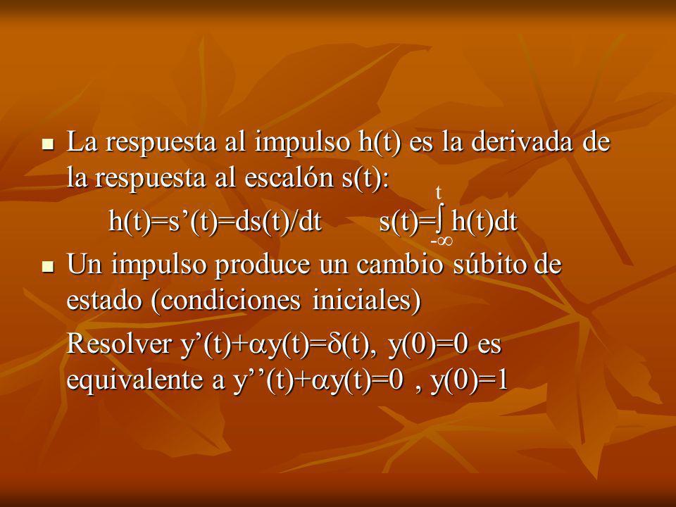 h(t)=s'(t)=ds(t)/dt s(t)= h(t)dt