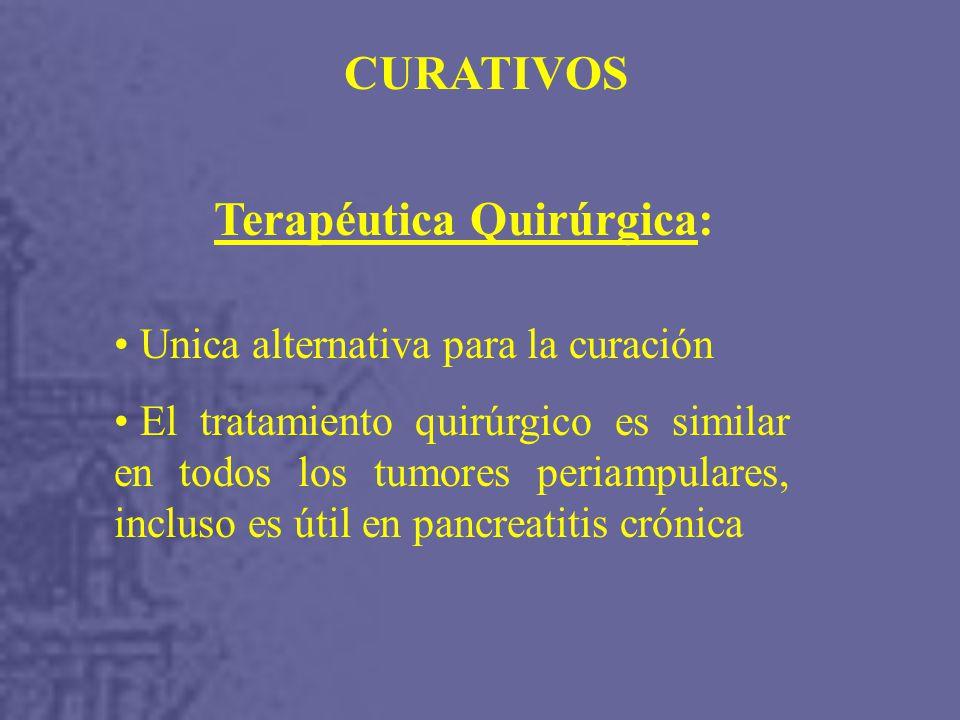 Terapéutica Quirúrgica:
