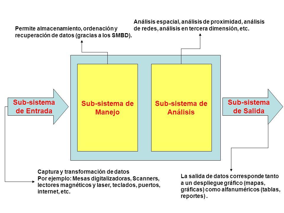 Sub-sistema de Análisis Sub-sistema de Entrada