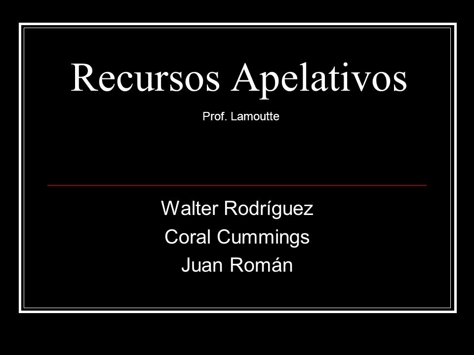 Walter Rodríguez Coral Cummings Juan Román