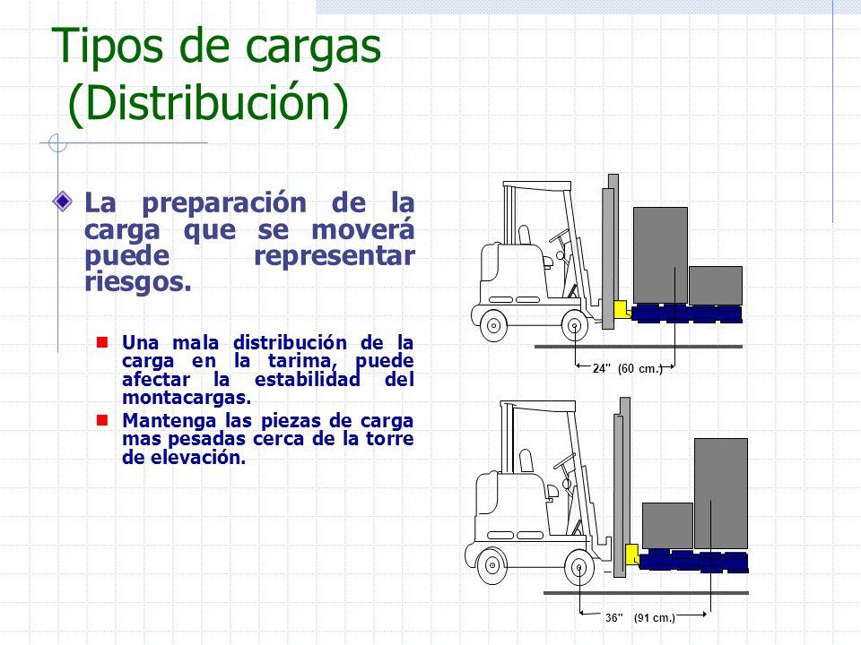 Tipos de cargas (Distribución)