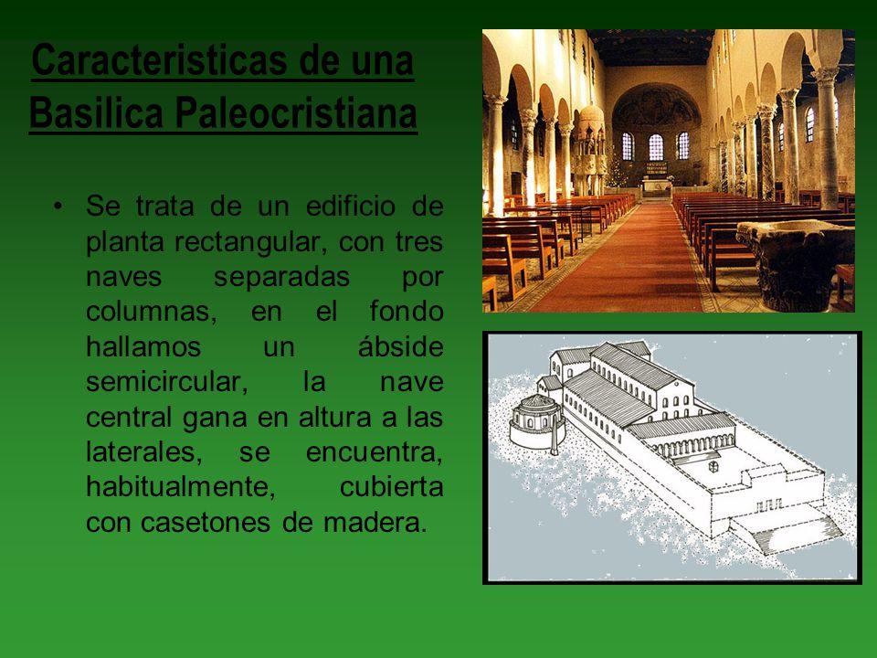 Caracteristicas de una Basilica Paleocristiana