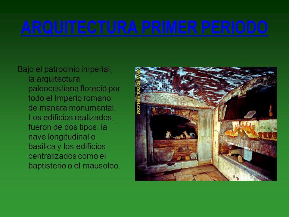ARQUITECTURA PRIMER PERIODO