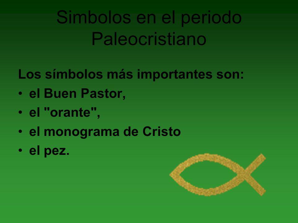Simbolos en el periodo Paleocristiano