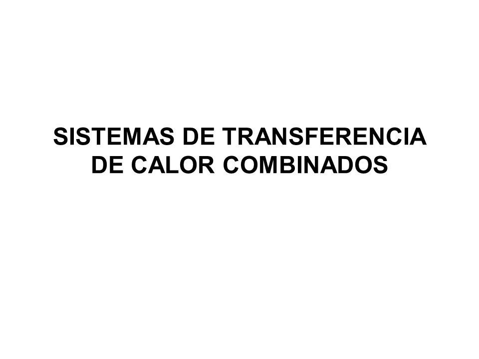 SISTEMAS DE TRANSFERENCIA DE CALOR COMBINADOS