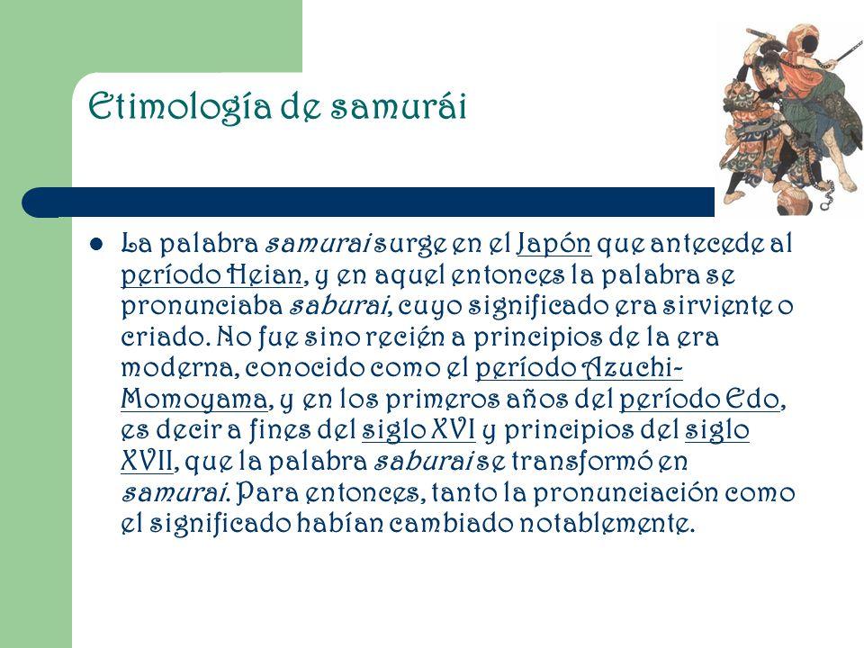 Etimología de samurái