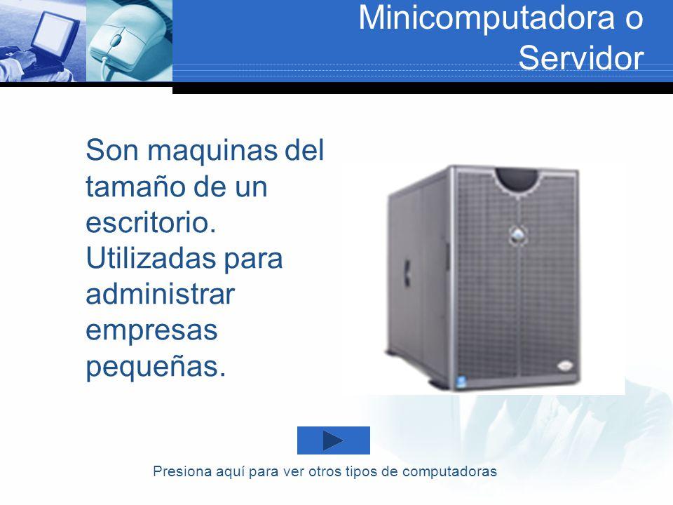 Minicomputadora o Servidor
