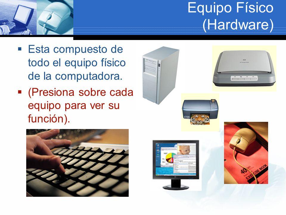 Equipo Físico (Hardware)