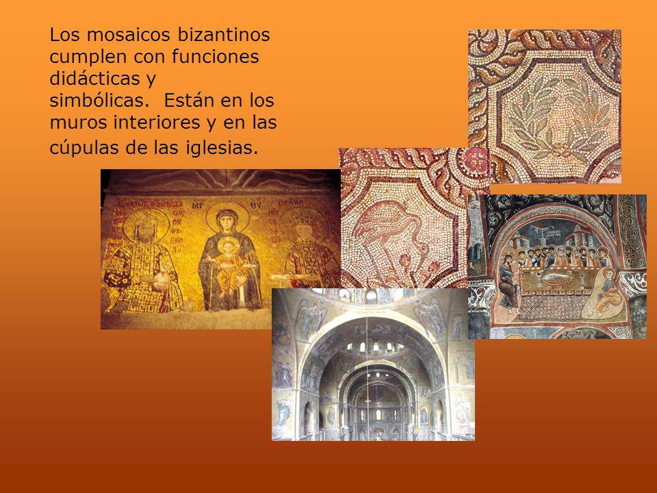 Los mosaicos bizantinos cumplen con funciones didácticas y simbólicas