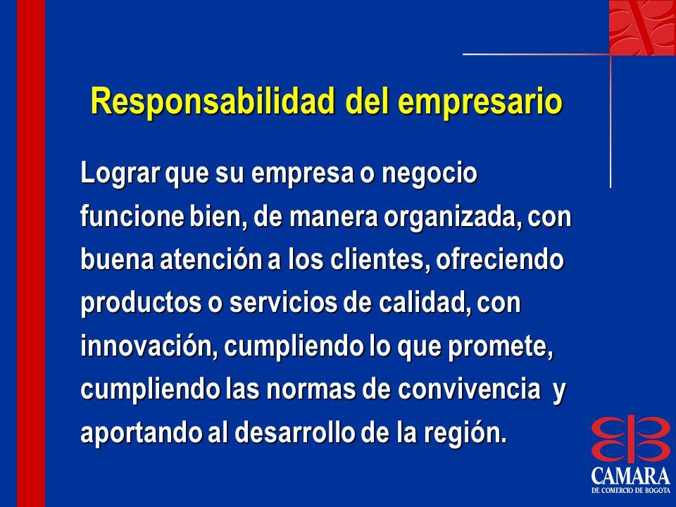 Responsabilidad del empresario