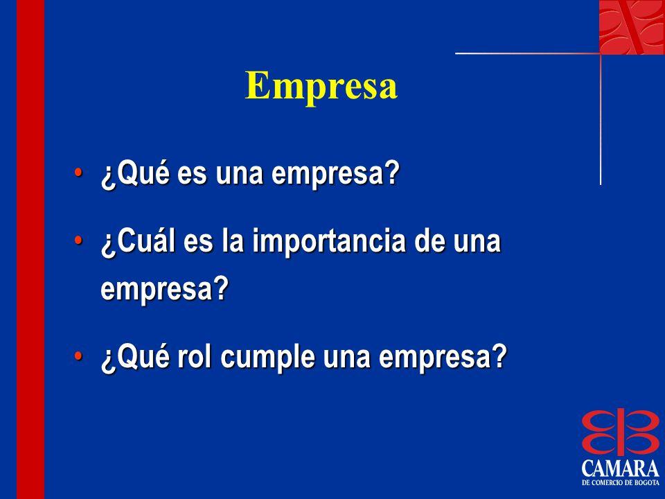 Empresa ¿Qué es una empresa ¿Cuál es la importancia de una empresa