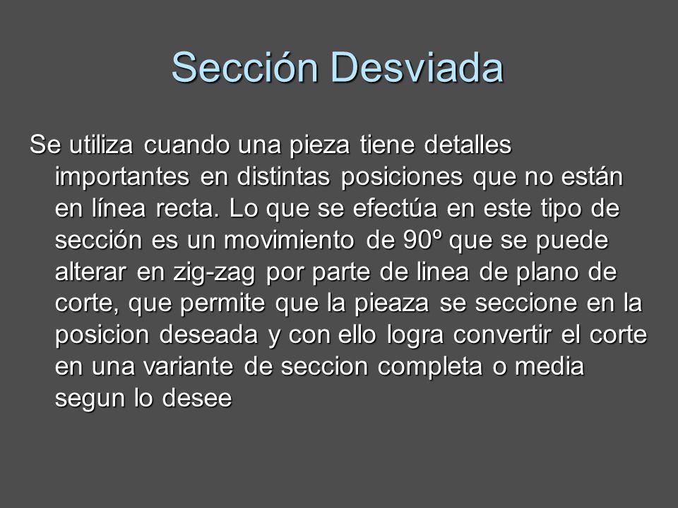 Sección Desviada