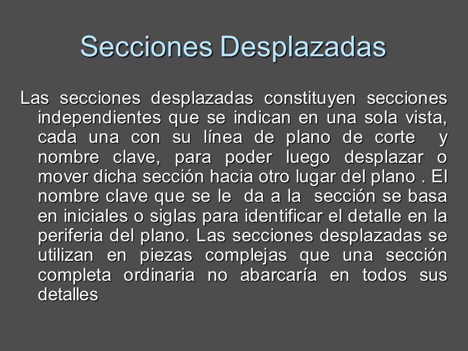 Secciones Desplazadas