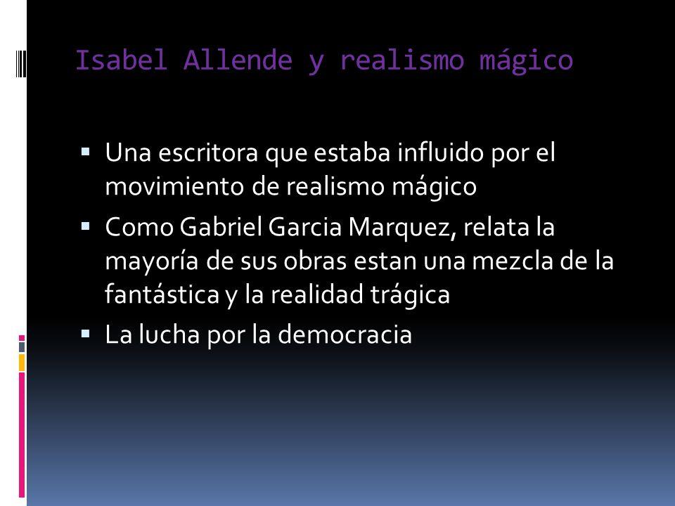 Isabel Allende y realismo mágico