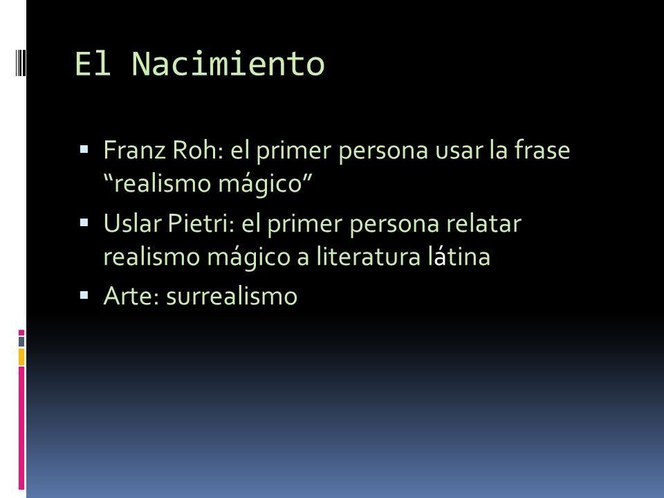 El Nacimiento Franz Roh: el primer persona usar la frase realismo mágico