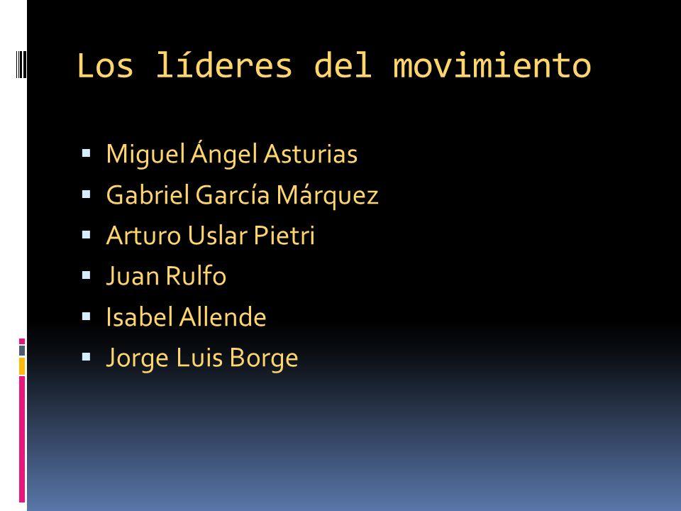 Los líderes del movimiento