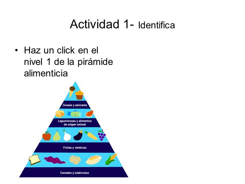 Actividad 1- Identifica