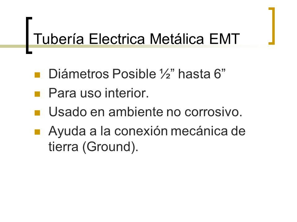 Tubería Electrica Metálica EMT