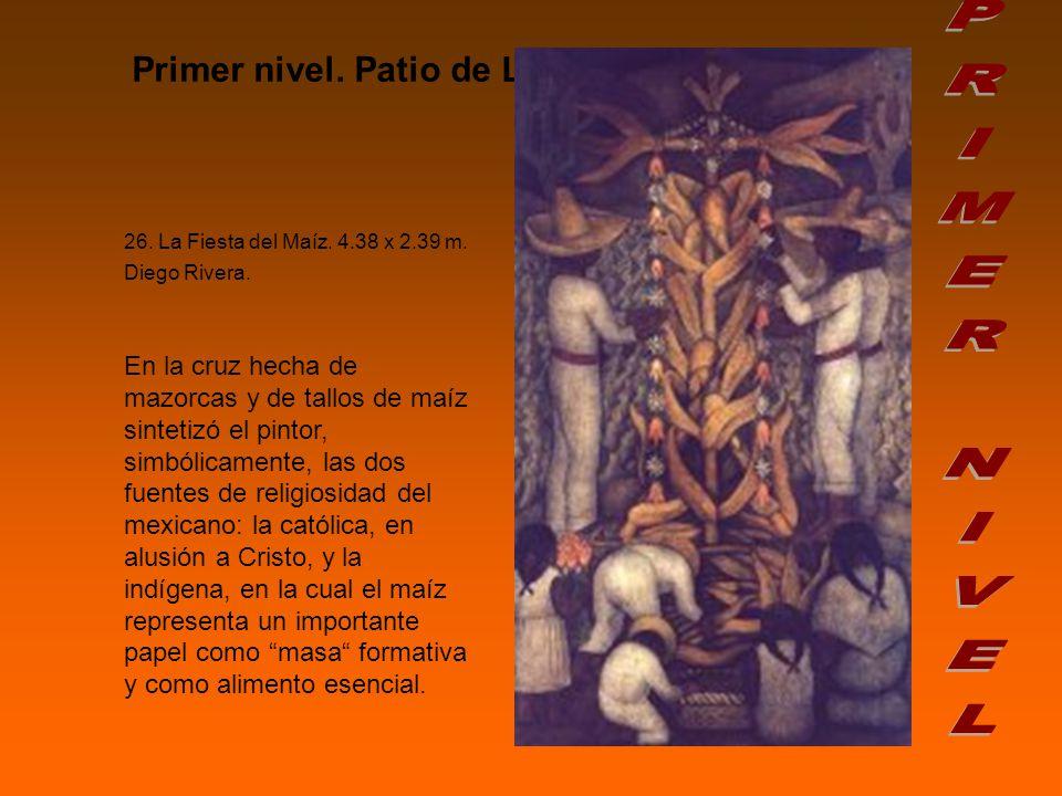 PRIMER NIVEL Primer nivel. Patio de Las Fiestas.