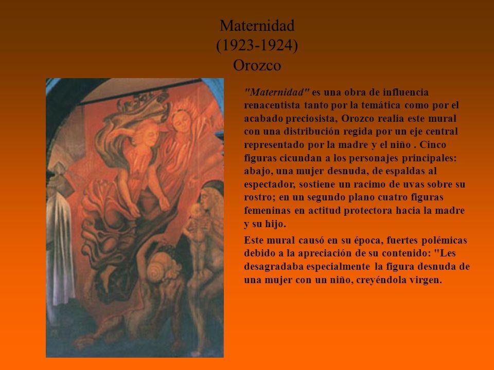 Maternidad (1923-1924) Orozco.
