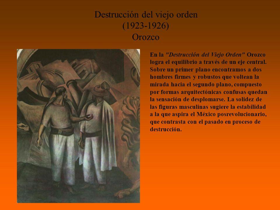 Destrucción del viejo orden (1923-1926)