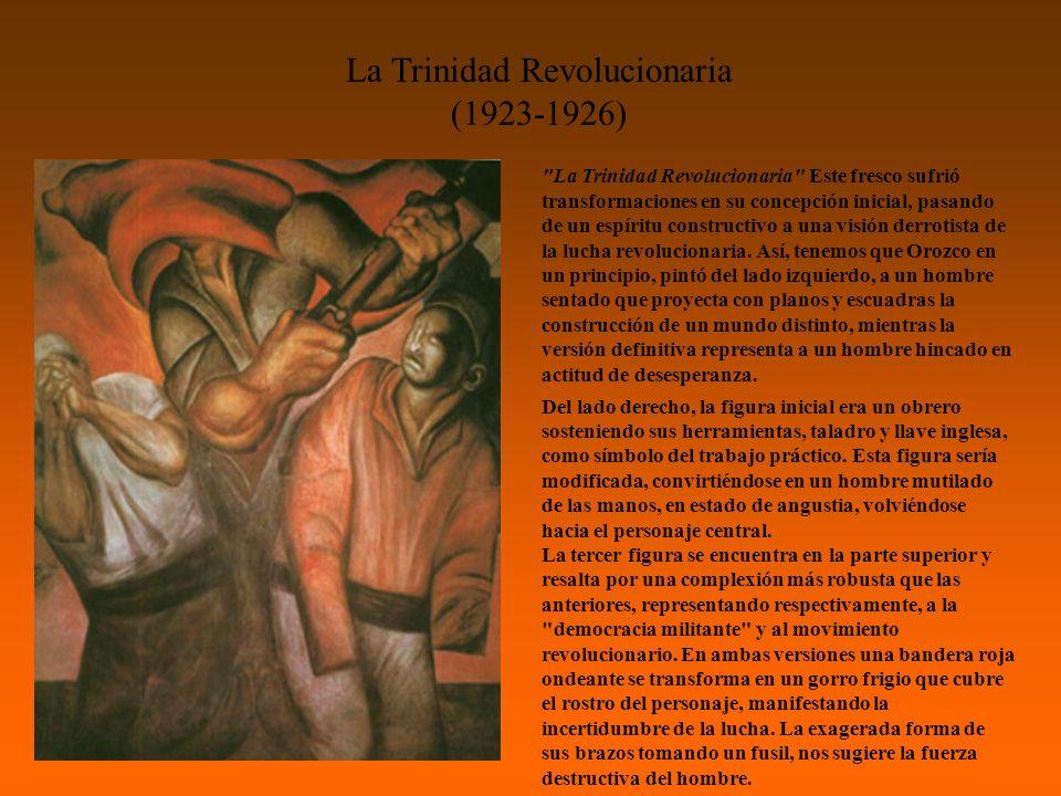 La Trinidad Revolucionaria (1923-1926)