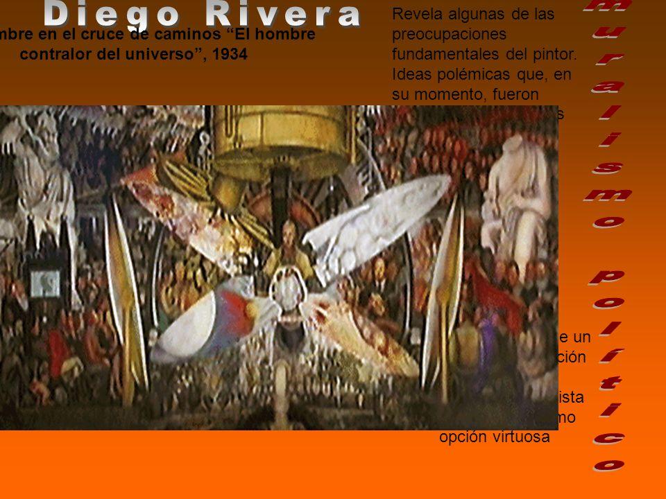 Diego Rivera muralismo político