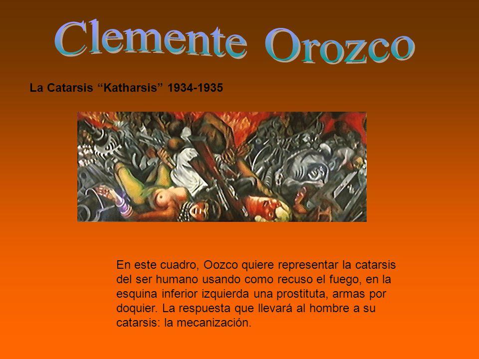 Clemente Orozco La Catarsis Katharsis 1934-1935