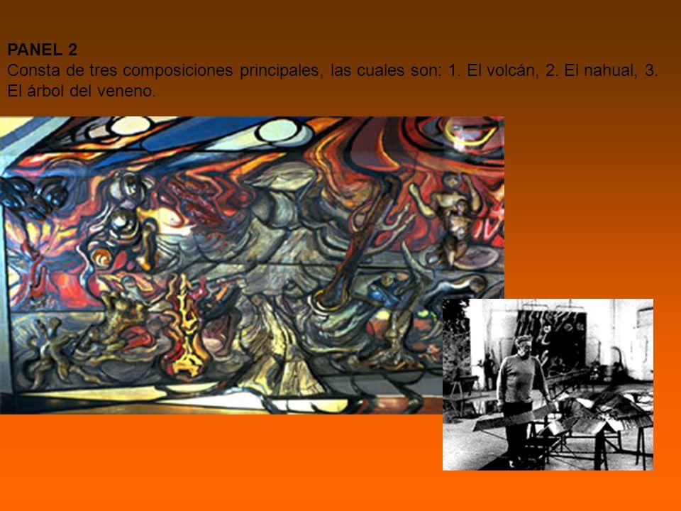 PANEL 2 Consta de tres composiciones principales, las cuales son: 1