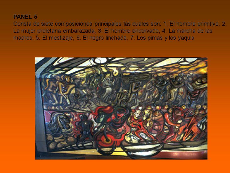 PANEL 5 Consta de siete composiciones principales las cuales son: 1