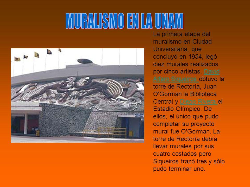 MURALISMO EN LA UNAM