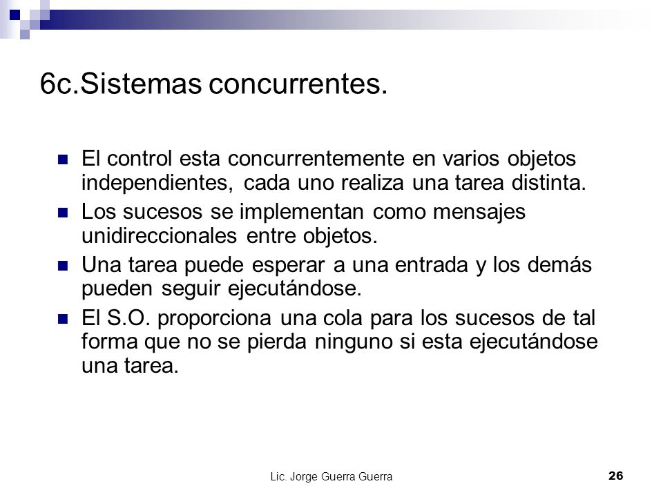 6c.Sistemas concurrentes.