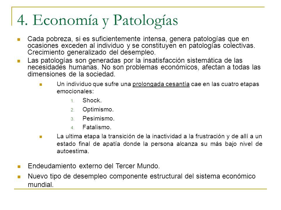 4. Economía y Patologías