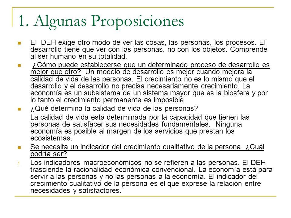 1. Algunas Proposiciones