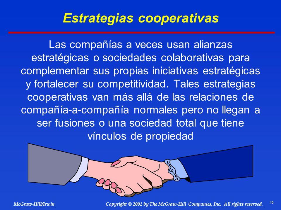 Estrategias cooperativas