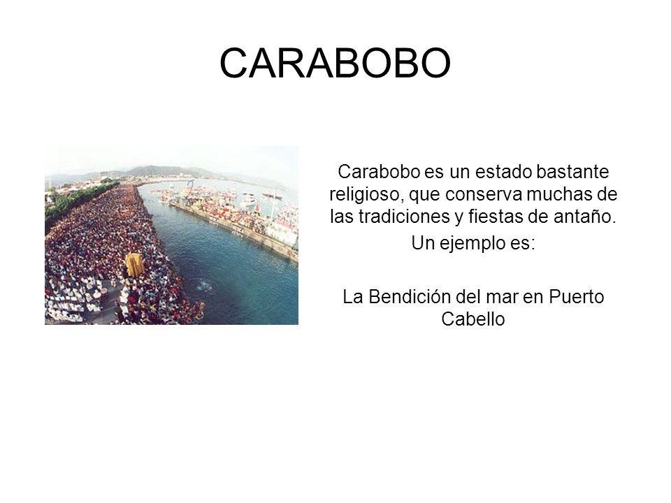 La Bendición del mar en Puerto Cabello