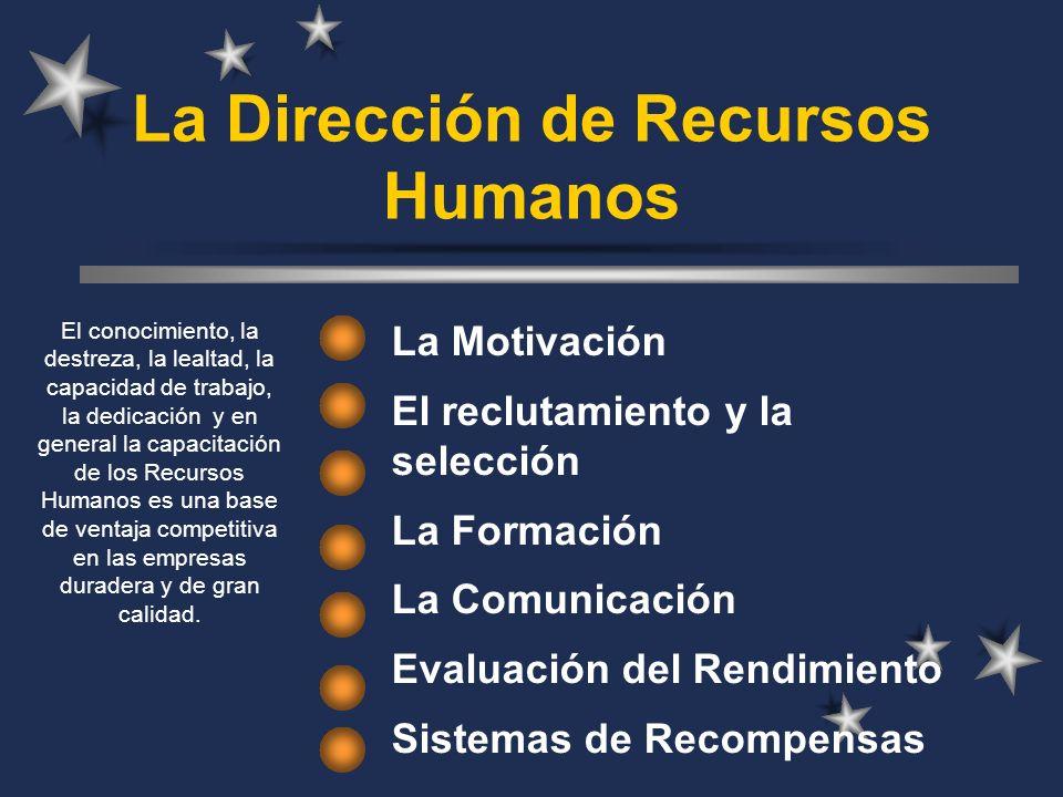 La Dirección de Recursos Humanos
