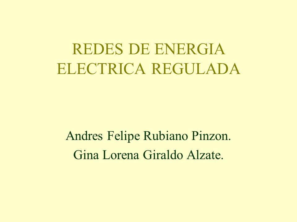 REDES DE ENERGIA ELECTRICA REGULADA