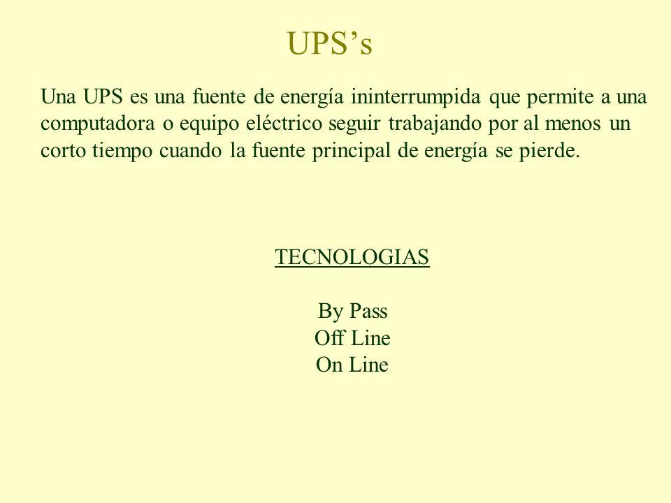 UPS's
