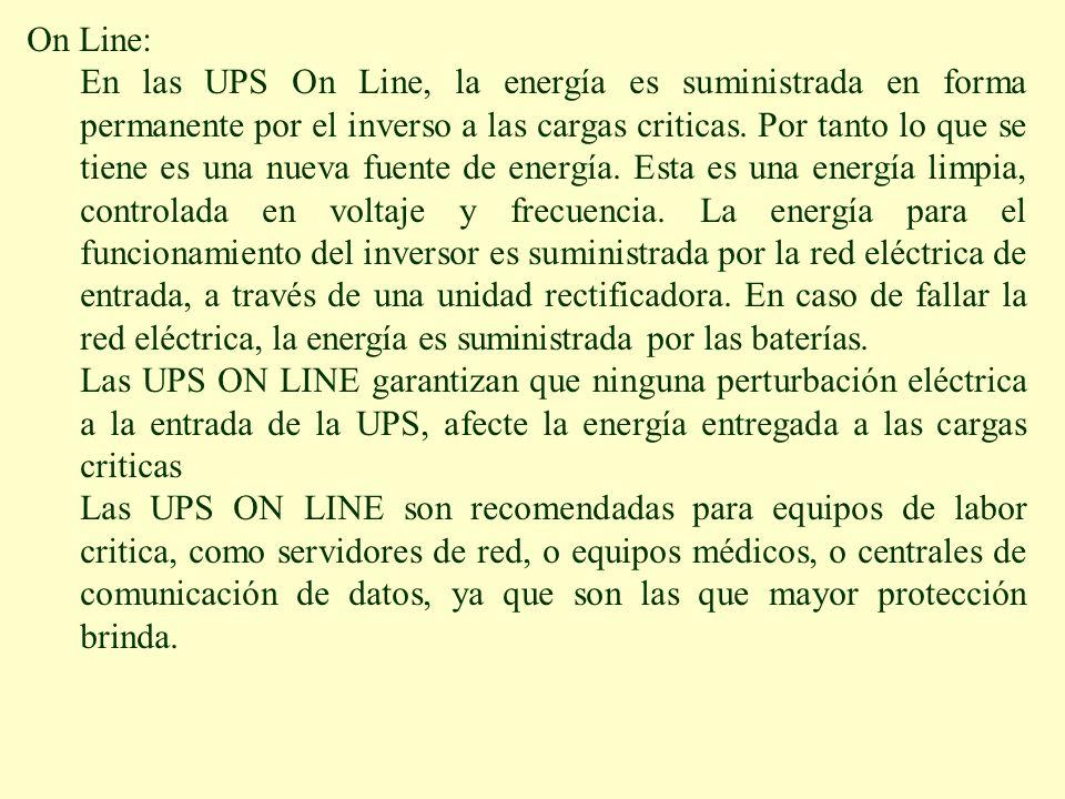On Line: