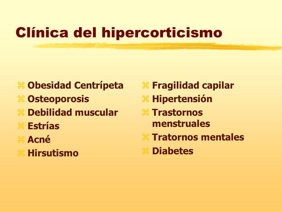 Clínica del hipercorticismo